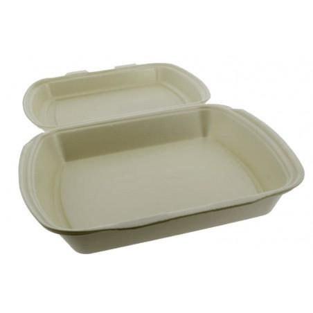 Envase Foam MenuBox 1C. Champagne 240x210x70mm (125 Uds)
