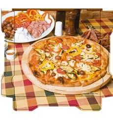 Cajas para Pizza Al Bassanello Tavola 33x33x4,2 cm (100 Uds)