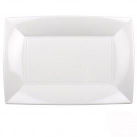Bandeja Plastico Blanco Nice PP 345x230mm (6 Uds)