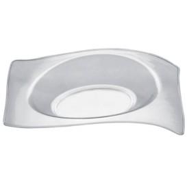 Plato Degustación Flat Transparente 8x6,6 cm (50 Uds)