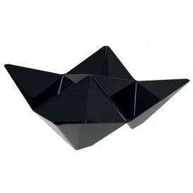 Bol Degustación Origami PS Negro 103x103mm (25 Unidades)