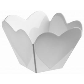 """Bol de Plástico """"Cupido"""" Blanco 68 ml (25 Uds)"""