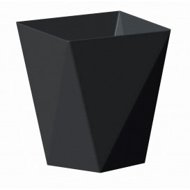 """Vaso de Degustacion """"Diamond"""" Negro 100 ml (25 Uds)"""