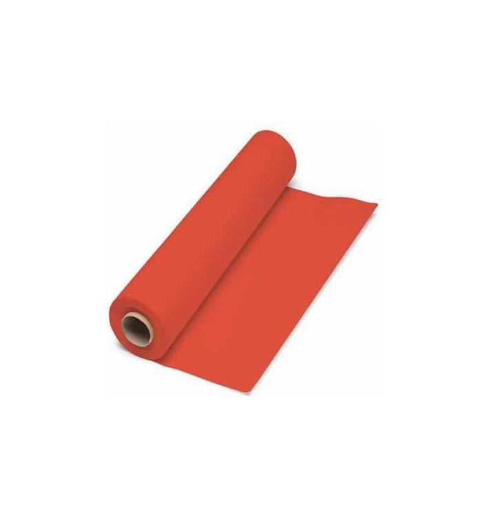 Mantel de Papel Rollo Rojo 1x100m. 40g (1 Ud)