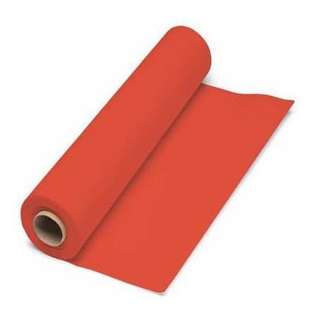 Mantel de papel en rollo Rojo 1x100 m. 40g (1 Unidad)