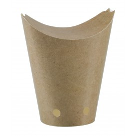 Caja cerrada de Comida para Llevar Kraft 325ml (50 Uds)