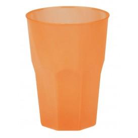 "Vaso de Plastico ""Frost"" Naranja PP 350ml (20 Uds)"