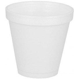 Vaso Termico Foam EPS 6Oz/180ml Ø7,4cm (25 Uds)