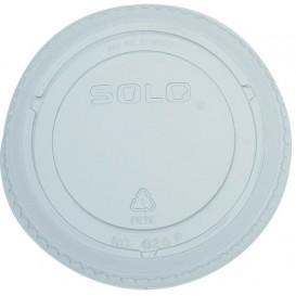Tapa Cerrada Para Vaso PET Solo Ultra Clear 16Oz Ø9,86 y 24Oz (100 Uds)
