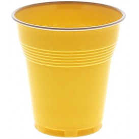 Vaso Vending  Bicolor Marron 166 ml (100 Unidades)