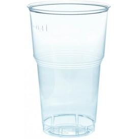 Vaso de Plastico PS Cristal Transp. 490ml Ø9,0cm (40 Uds)