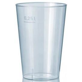 Vaso de Plastico Transparente 250 ml (50 Uds)