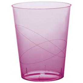 Vaso de Plastico Moon Lila Transp. PS 350ml (400 Uds)