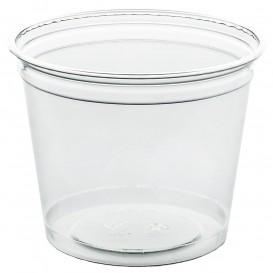 Vaso de Plástico Rígido de PET 215ml Ø8,1cm (50 Uds)