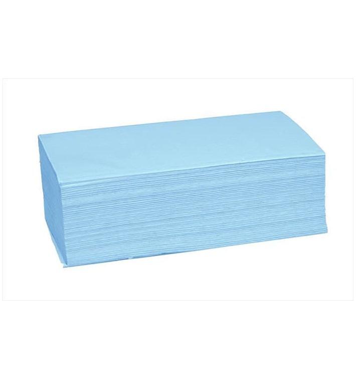 Toalla de Papel Secamanos Azul (4.560 Uds)