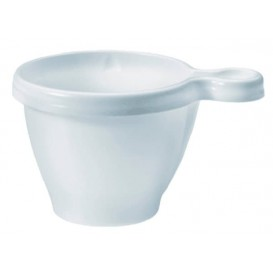 Taza de Plastico Blanco 170 ml (50 Unidades)