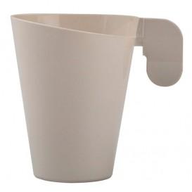 Taza de Plastico Design Crema 72ml (12 Uds)