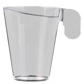 Taza de Plastico Design Transparente 72ml (12 Uds)