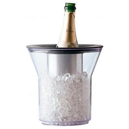 Termo de Plastico para 1 Botella Transp. PCTA (1 Ud)