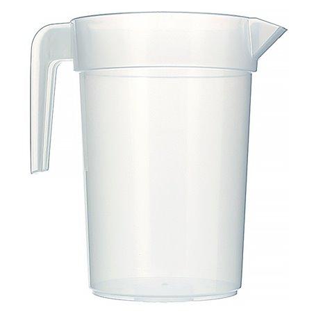 Jarra Inyectada Traslúcida PP 1.000 ml (10 Unidades)