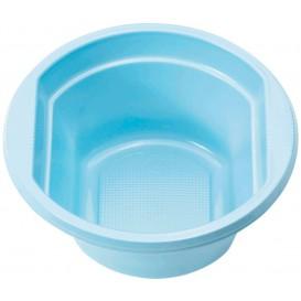 Bol de Plástico PS Azul Claro 250ml Ø12cm (30 Uds)