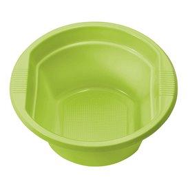 Bol de Plastico PS Verde Lima 250ml  (30 Uds)