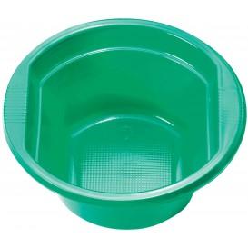 Bol de Plástico PS Verde 250ml Ø12cm (30 Uds)