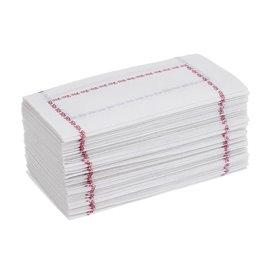 Servilleta de Papel 14x14 Zigzag Azul (250 Uds)