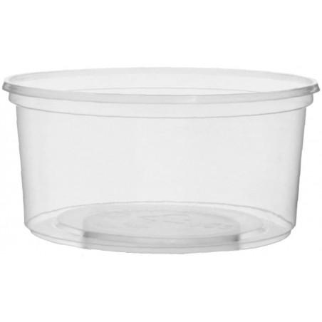 Tarrina de Plastico Transparente 250ml Ø10,5cm (50 Uds)