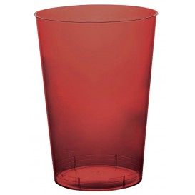 Vaso de Plastico Moon Burdeos Transp. PS 230ml (35 Uds)