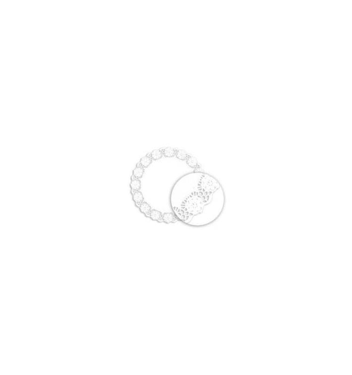 Rodal Calado Blanco de Papel Litos 340mm (250 Uds)