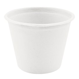 Tarrina de Caña de Azucar Blanca 425ml (50 Uds)