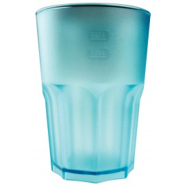 Vaso de Plastico Naranja Transp. SAN 400ml (5 Uds)