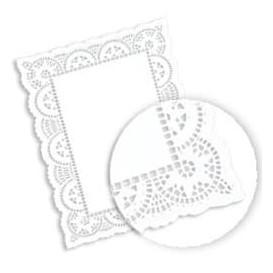Blonda de Papel calada blanca LITOS 24,5x37cm (250 Uds)