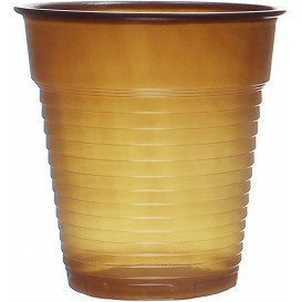 Vaso de Plastico PS Vending Marrón 166ml Ø7,0cm (100 Uds)