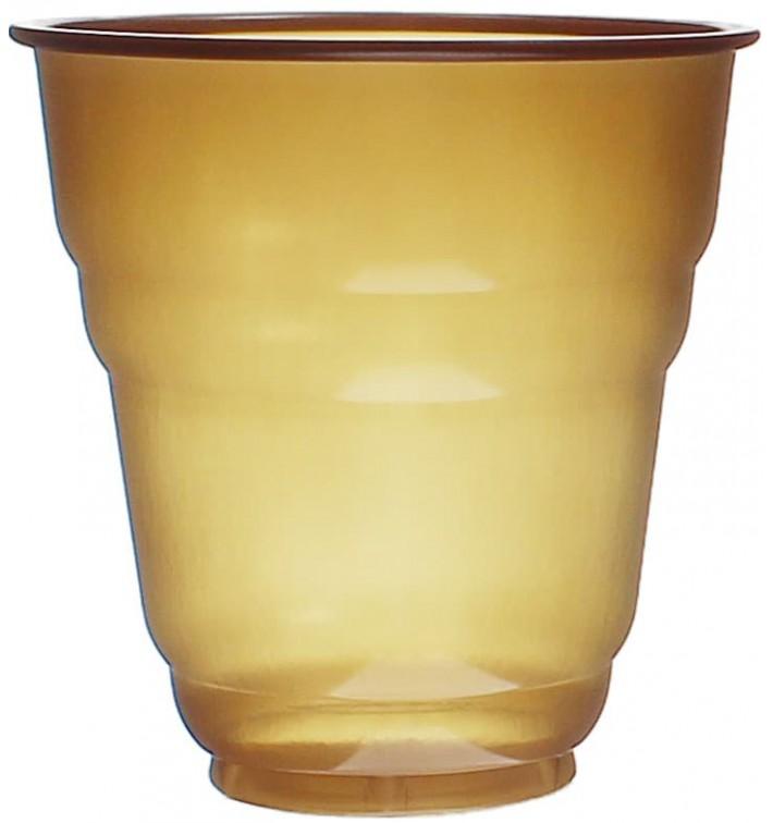 Vaso de Plastico PS Vending Design Marrón 166ml Ø7,0cm (100 Uds)