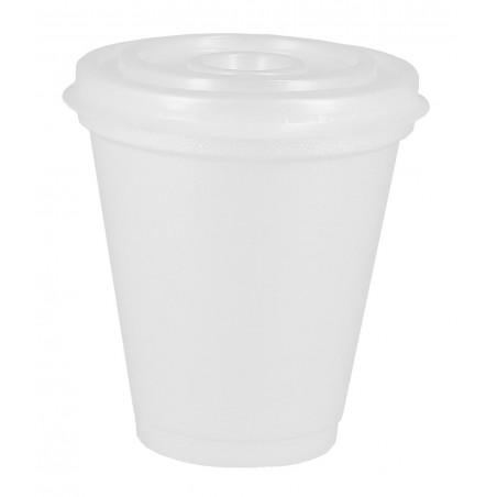 Vaso Termico Foam EPS 7Oz/200ml Blanco + Tapa (800 Uds)