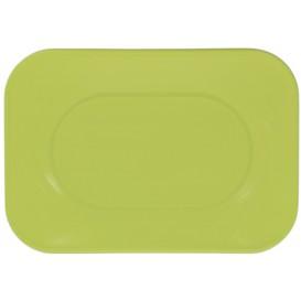 "Bandeja de Plastico PP ""X-Table"" Lima 330x230mm (2 Uds)"