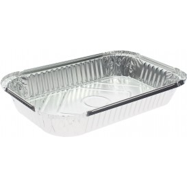 Bandeja Aluminio 15C. 1500ml 280x180x37mm (100 Uds)