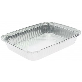 Bandeja Aluminio 12C. 1180ml 240x188x35mm (100 Uds)