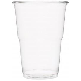 Vaso de Plastico PET Cristal Transparente 490 ml (60 Uds)