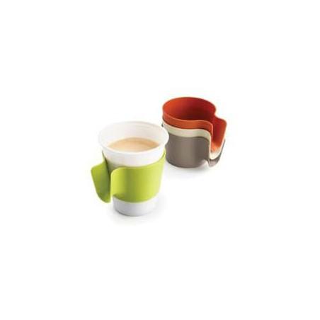 "Porta vasos ""Cupholder"" Verde Lima (12 Unidades)"