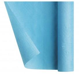 Mantel de Papel Rollo Azul Claro 1,2x7m (1 Ud)