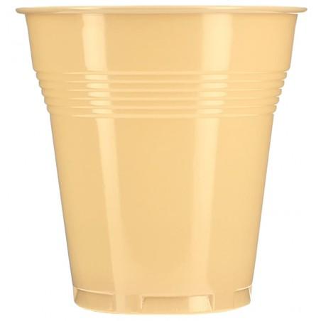 Vaso de Plastico PS Vending Crema 160 ml (100 Unidades)