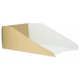Envase de Cartón para Gofres 16x10cm (100 Uds)