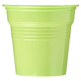Vaso de Plástico PS Verde Lima 80ml Ø5,7cm (50 Uds)