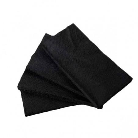 Servilleta de Papel 1/8 40x40 Negro (50 Uds)