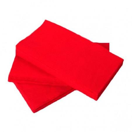 Servilleta de Papel 1/8 40x40 Rojo (50 Uds)