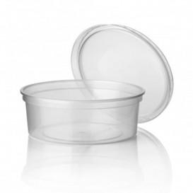 Tarrina de Plastico Transparente PP 350 ml Ø11,5cm (50 Uds)