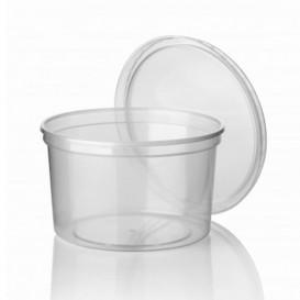 Tarrina Transparente PP 500 ml (Paquete 50 unidades)